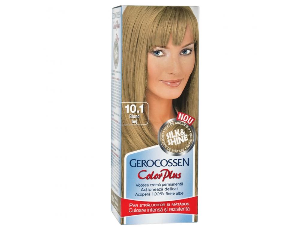Vopsea De Par Silkshine 101 Blond Bej Gerocossen