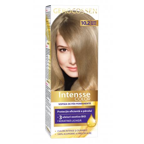 Vopsea de par permanenta Intensse Color 10.2 Blond Inchis