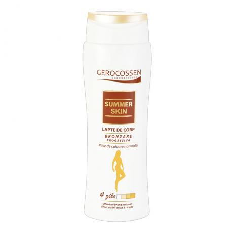 Lapte de corp bronzare progresiva pentru piele normala Summer Skin