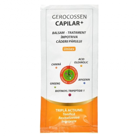 Plic balsam impotriva caderii parului Capilar+