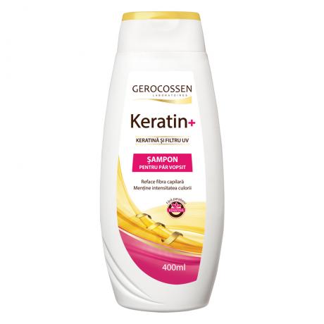 Sampon pentru par vopsit cu keratina si filtru UV - Keratin+