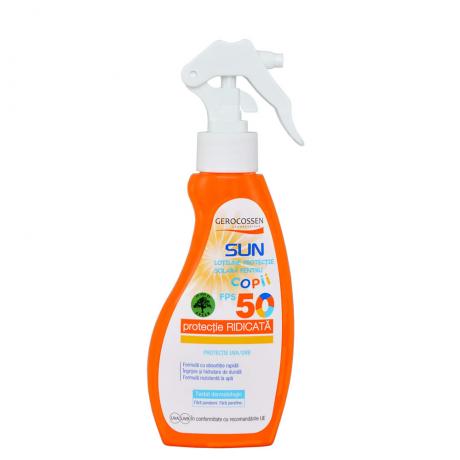 Spray protectie solara pentru copii FPS 50 Gerocossen Sun