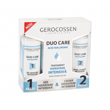 DUO CARE-tratament hidratare intensiva cu acid hialuronic