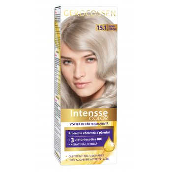 Vopsea de par permanenta Intensse Color 15.1 Blond Cenusiu
