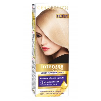 Vopsea de par permanenta Intensse Color 15.3 Blond Solar