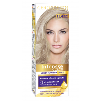 Vopsea de par permanenta Intensse Color 15.4 Blond Perla