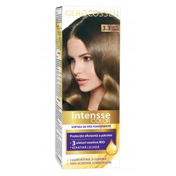 Vopsea de par permanenta Intensse Color 3.3 Saten Ambra