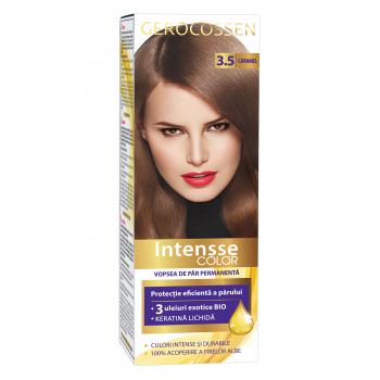 Vopsea de par permanenta Intensse Color 3.5 Caramel