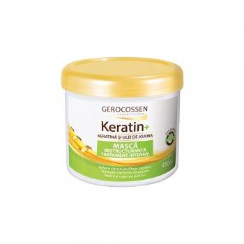 Masca tratament intensiv cu keratina si ulei de jojoba - Keratin+