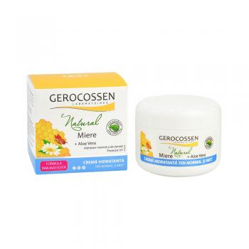 Crema hidratanta ten normal si mixt - Gama Natural Miere