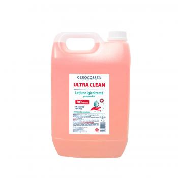 Lotiune igienizanta pentru maini 70% alcool ULTRA CLEAN 5 litri