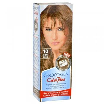 Vopsea de par Silk&Shine 10 Blond Inchis - Color Plus