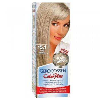 Vopsea de par Silk&Shine 15.1 Blond Cenusiu - Color Plus