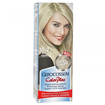 Vopsea de par Silk&Shine 15.2 Blond Argintiu - Color Plus