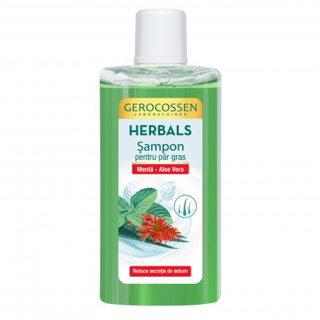 Sampon pentru par gras Herbals 300 ml
