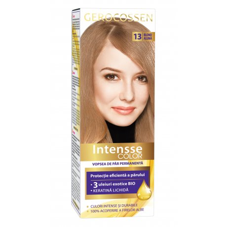 Vopsea de par permanenta Intensse Color 13 Blond Aluna