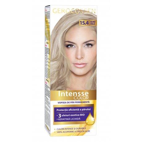 Vopsea de par permanenta Intensse Color 15.4 Blond Perla
