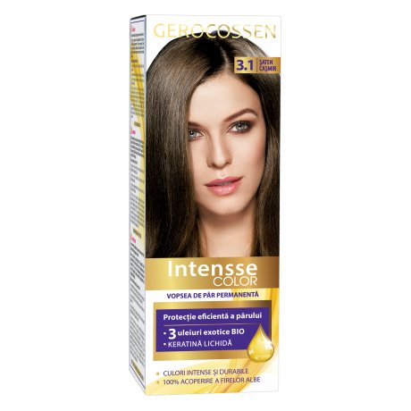 Vopsea de par permanenta Intensse Color 3.1 Saten Casmir