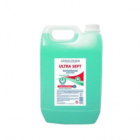 Gel dezinfectant maini Biocid ULTRA SEPT - Distruge 99,9% din germeni 5 litri