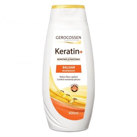 Balsam regenerant cu keratina si pantenol - Keratin+