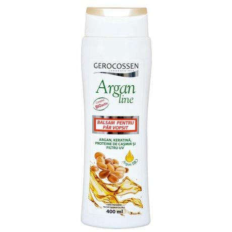 Balsam pentru par vopsit Argan Line