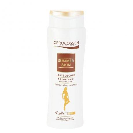 Lapte de corp bronzare progresiva pentru piele deschisa Summer Skin
