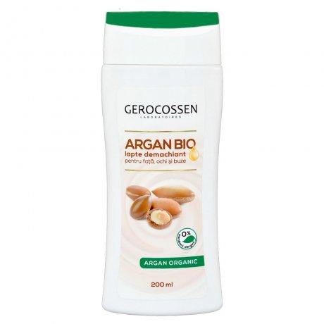 Lapte demachiant Argan Bio