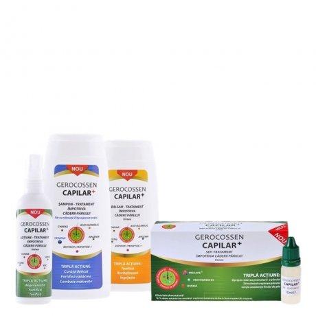 Pachet tratament impotriva caderii parului cu matreata Capilar+