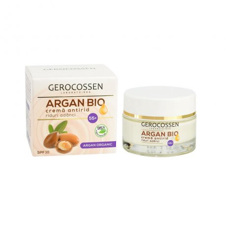 Crema antirid 55+ Argan Bio