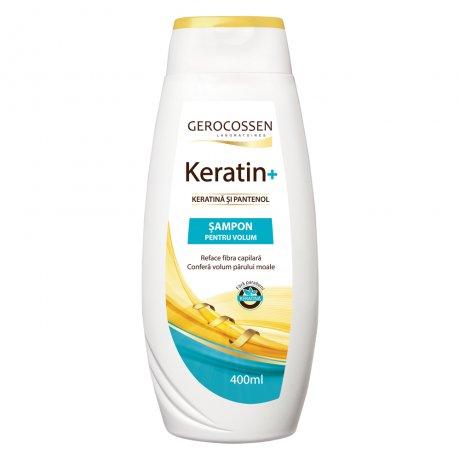 Sampon pentru volum cu keratina si pantenol - Keratin+