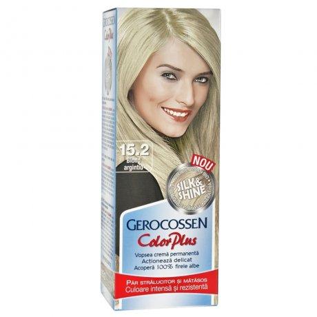Vopsea de par Silk&Shine 15.2 Blond Argintiu - Color Plus